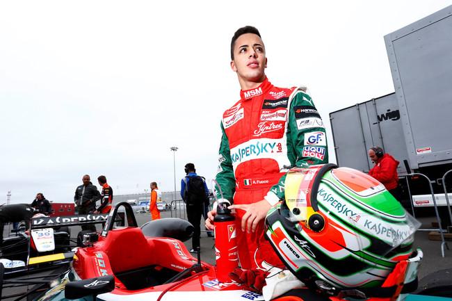El jovencísimo piloto italiano Antonio Fuoco debutará con Ferrari a sus 19 años