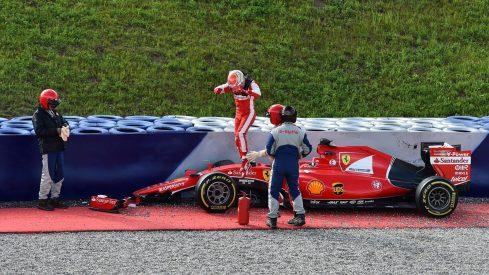Día agridulce para Antonio Fuoco y Ferrari