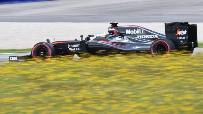 Fernando Alonso tuvo un día productivo en el desarrollo del MP4-30