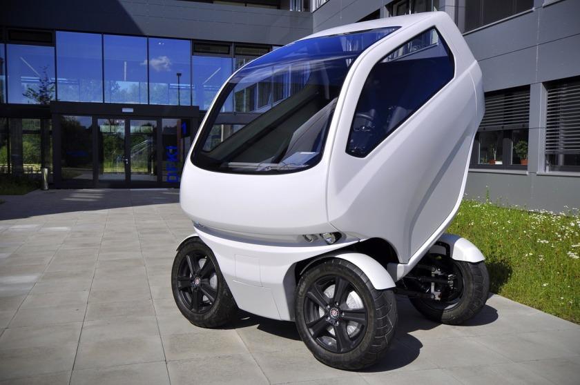 EO Smart Connecting Car 2, el coche capaz de andar de lado