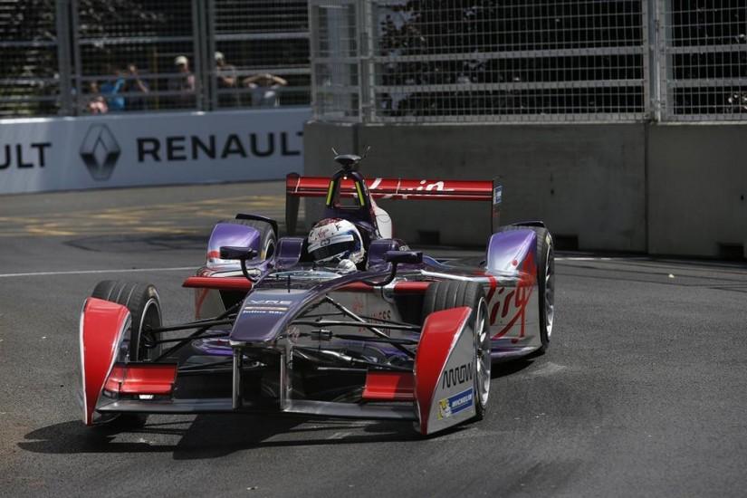 Sam Bird (Virgin Racing), brillante vencedor del último ePrix de la temporada