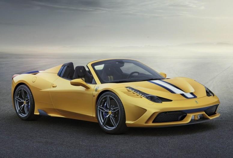 El motor V8 4.5 y 605 CV del Ferrari 458 Spider Speciale, distinguido como Mejor Motor del Año 2015