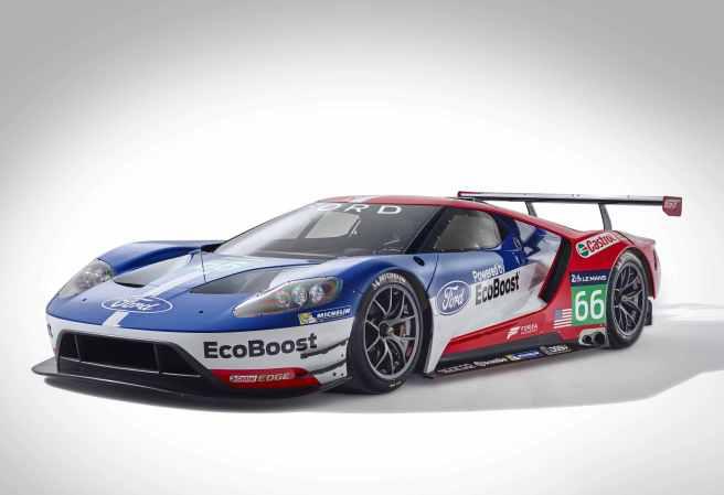 Ford volverá a Le Mans en 2016 con el nuevo GT