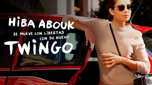 Hiba Abouk, nueva imagen del Renault Twingo para España