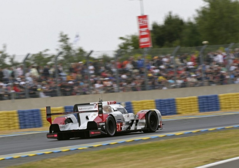 Audi tuvo que conformarse con la tercera plaza