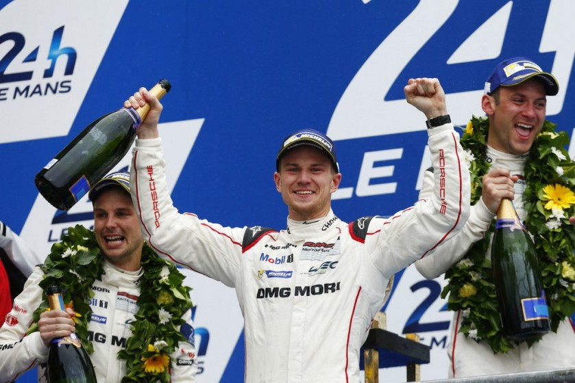 Nico Hulkenberg logra su primera victoria en Le Mans