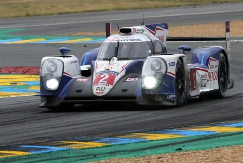 El Toyota de Alex Wurz, Stéphane Sarrazin y Mike Conway , el mejor clasificado en el sexto puesto