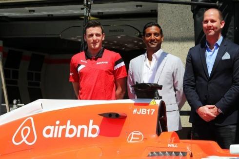 Manor firma con Airbnb su primer sponsor para el equipo