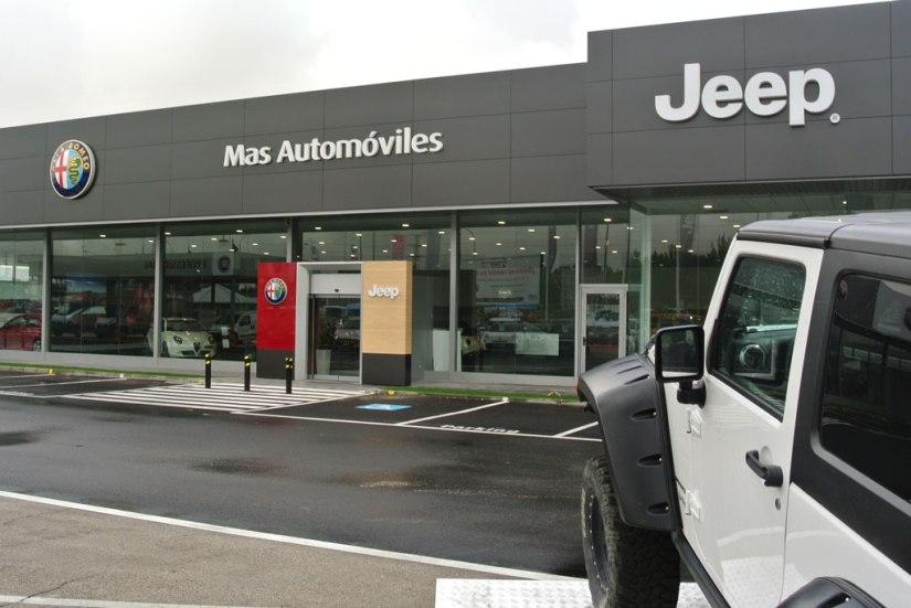 El concesionario madrileño Mas Automóviles, pionero en la nueva imagen del Grupo FCA
