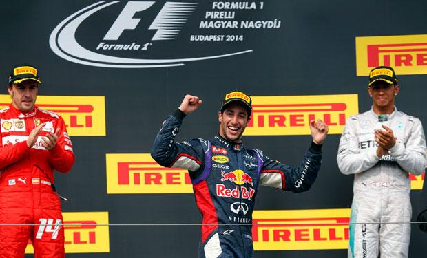 Daniel Ricciardo aspira a volver a ganar
