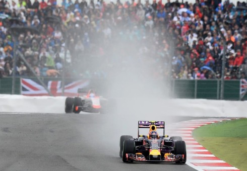 Gran carrera la de Daniil Kvyat hoy en Silverstone