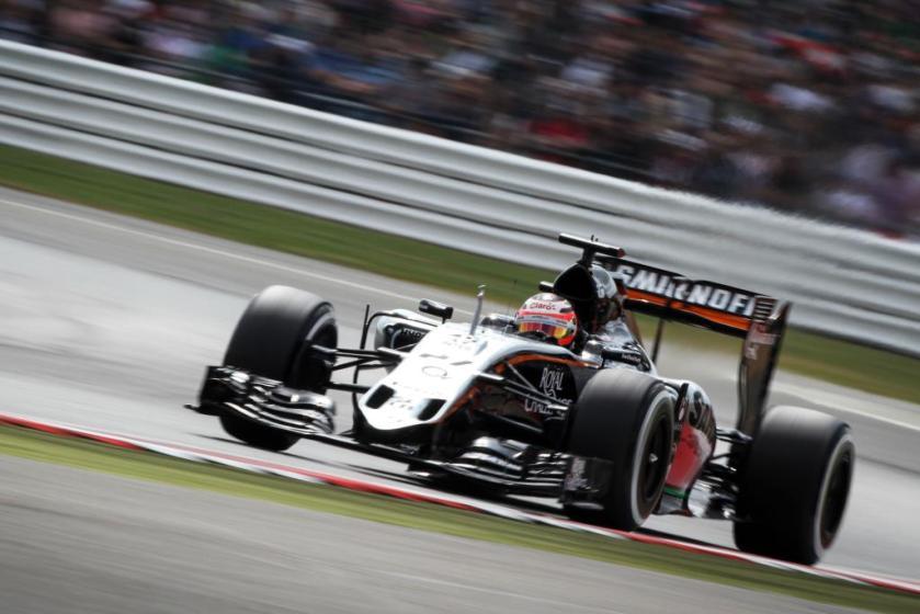 Nico Hulkenberg, protagonista junto a su Force India de una gran salida