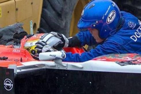 Jules Bianchi pudo impactar a 254 G en el momento del accidente, según la FIA