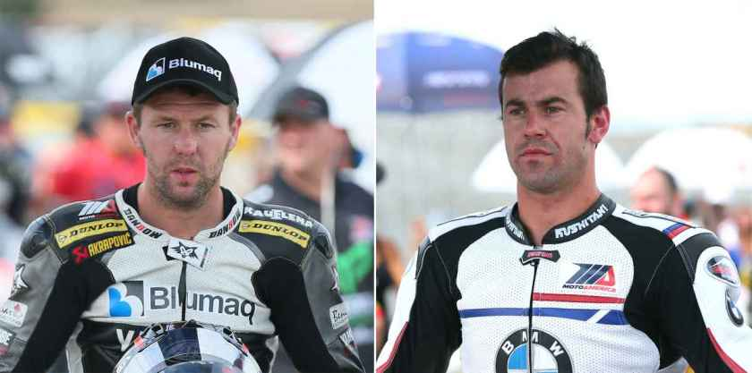 Bernat Martínez y Dani Rivas mueren en una carrera de Superbikes en Laguna Seca