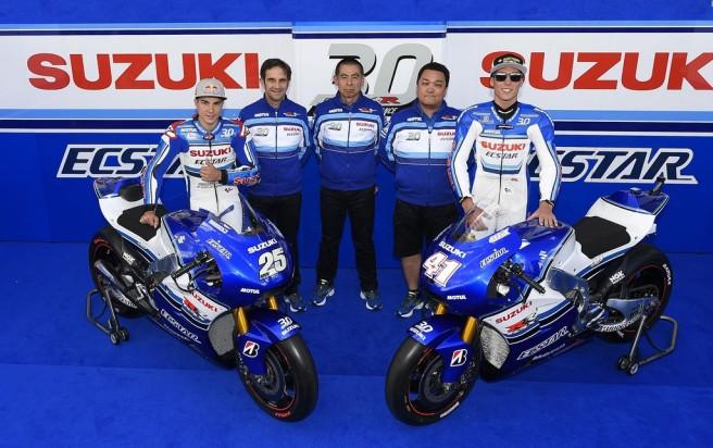 El equipo Suzuki de MotoGP homenajará a la GSX-R en su 30º aniversario