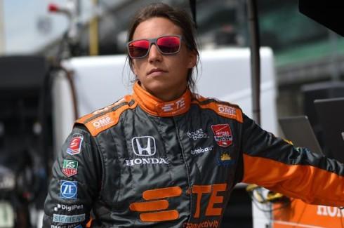 Simona de Silvestro, un año más en la Fórmula E con el equipo Andretti
