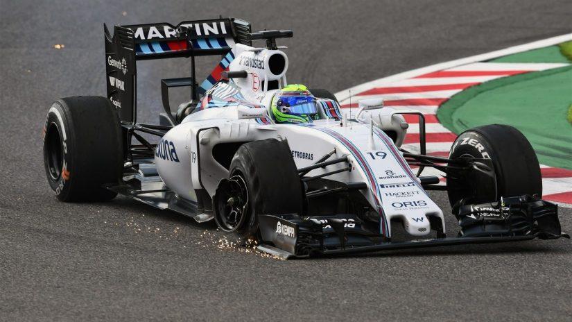 Mal día para Williams, que no supo aprovechar su buena jornada del sábado