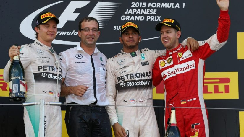 Nuevo doblete de Mercedes, con Lewis Hamilton en lo más alto