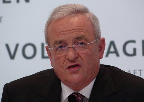 Martin Winterkorn, presidente del Grupo Volkswagen, en el mayor escándalo de la marca