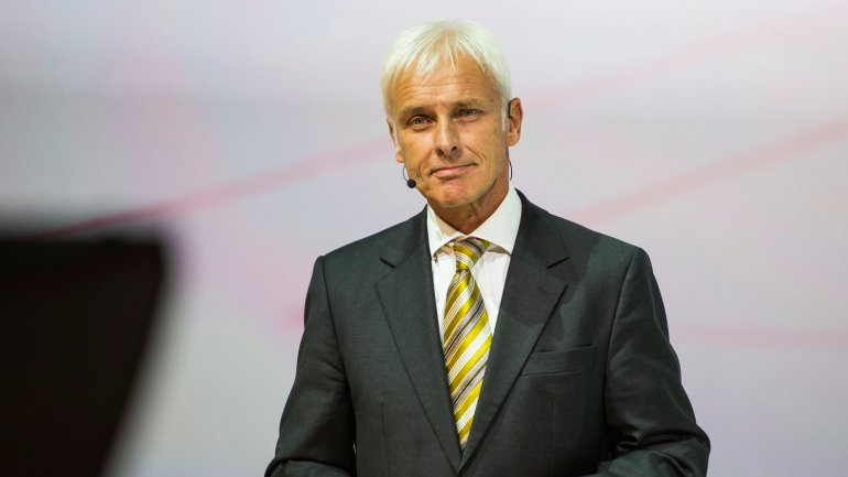 Matthias Müller, nuevo presidente del Grupo Volkswagen