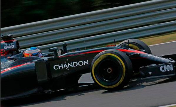 McLaren ya luce el logo de su nuevo patrocinador en el monoplaza