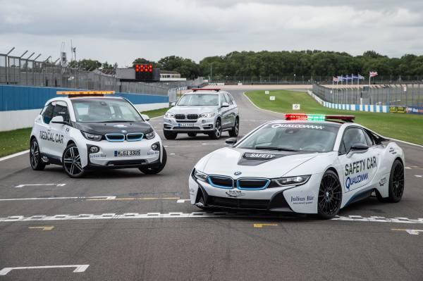 El BMW i8 será Safety Car de la Fórmula E un año más