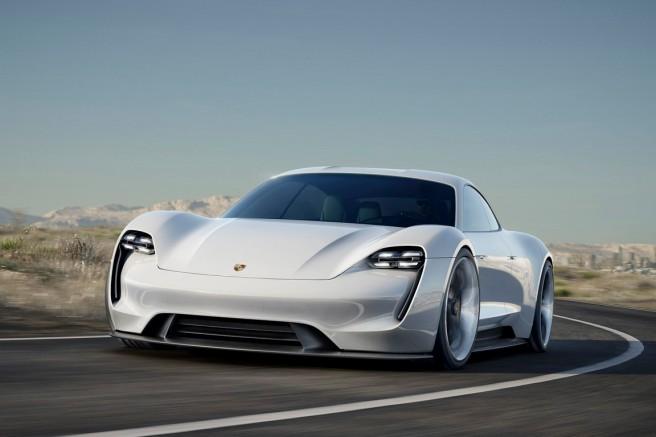 """Porsche Mission E: La """"bomba eléctrica"""" de Porsche"""