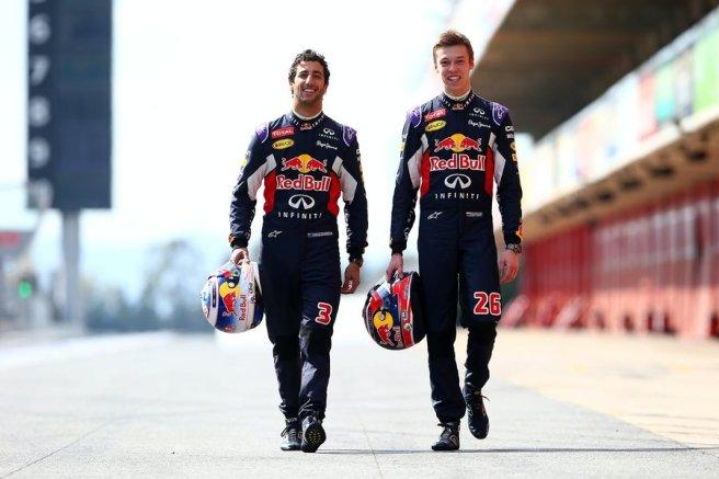 Los dos pilotos de Red Bull, sancionados en Italia por cambiar sus motores
