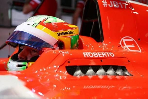 Roberto Merhi pierde su volante en Manor