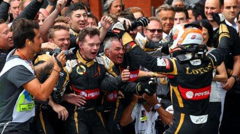 Tremendo enfado de Lotus con Grosjean ante su casi segura marcha