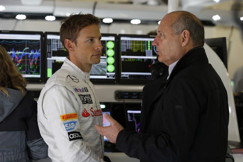 La figura de Ron Dennis, clave para la decisión final de Jenson Button