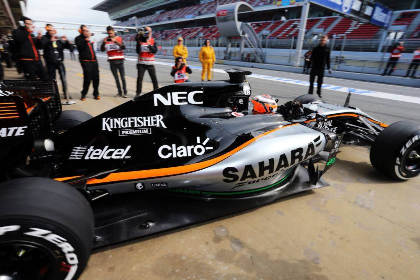 Force India, a un paso de cambiar por Aston Martin