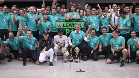 Mercedes, campeón del mundo de Marcas por segundo año consecutivo