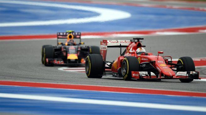 Gran carrera de Vettel, que le reportó un nuevo podium