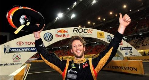 Romain Grosjean, ganador de la ROC 2012, confirmado para la edición de este año