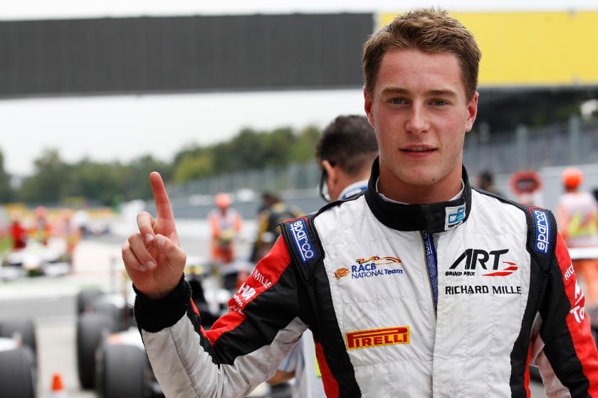 Stoffel Vandoorne, nuevo campeón de la GP2 y sustituto de Magnussen en McLaren