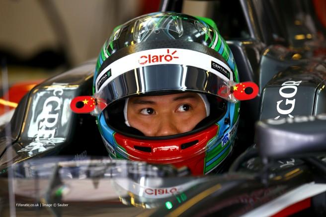 Adderly Fong, el pasado año durante los libres del GP de Abu Dhabi