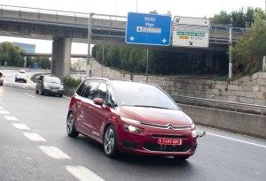 Un Citroën, el primer coche autónomo en cruzar España
