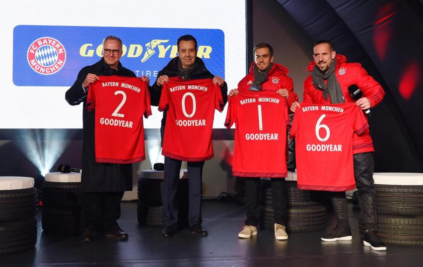 El Bayern de Munich y Goodyear firman un acuerdo de patrocinio