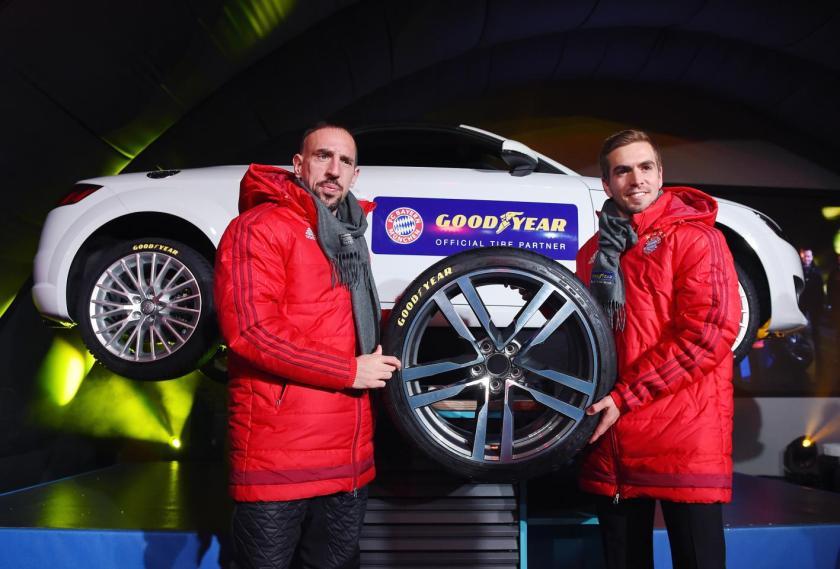 """Franck Ribery y Phillip Lahm, principales """"embajadores"""" del acuerdo"""