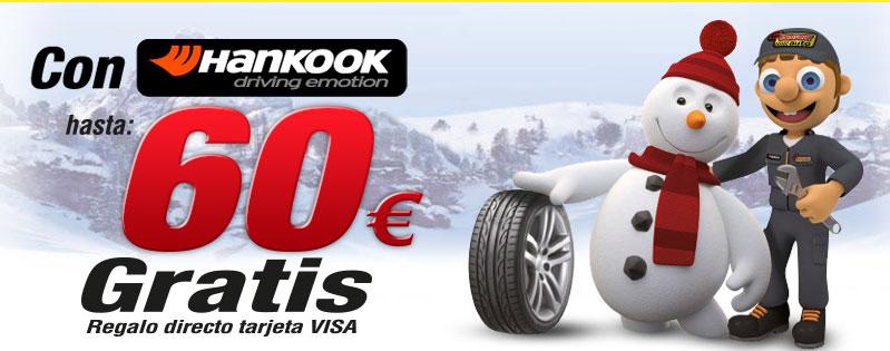 Confortauto regala 60 euros para los compradores de neumáticos Hankook
