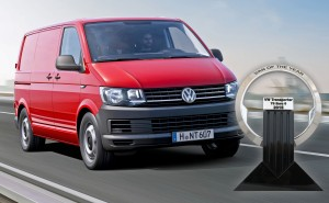 "El nuevo VW Transporter, premio ""Van of the Year"" 2016"
