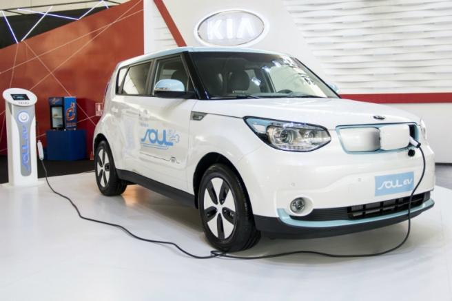 El Kia Soul EV, uno de los primeros modelos eléctricos de Kia