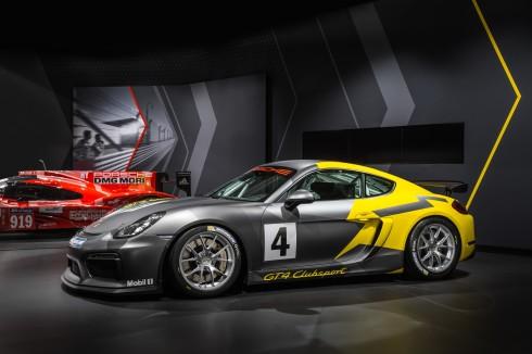 Porsche Cayman GT4 Clubsport 09