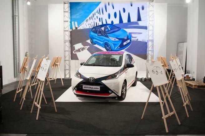 El Toyota Aygo by Lomba, en el estudio del diseñador vitoriano