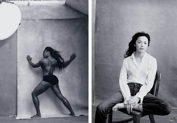 La tenista Serena Williams y la activista china Yao ChenLa tenista Serena Williams y la activista china Yao Chen