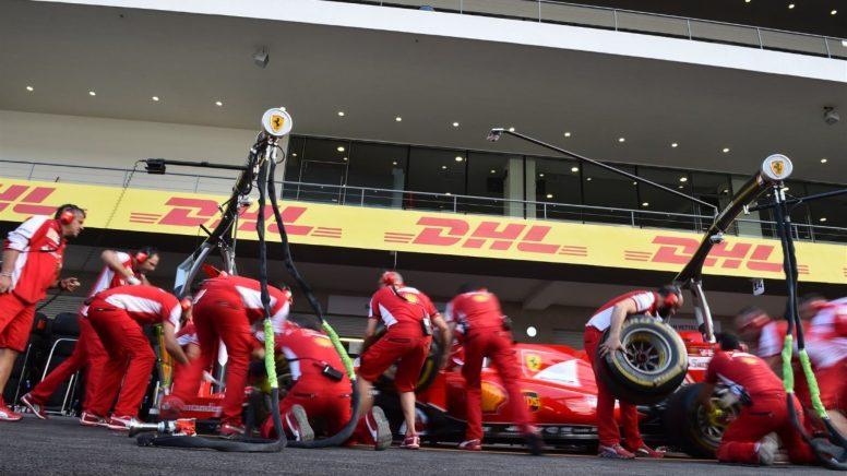 Ferrari, premiada con el trofeo DHL al mejor pitstop