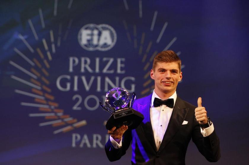 Max Verstappen, el gran protagonista de la gala FIA 2015