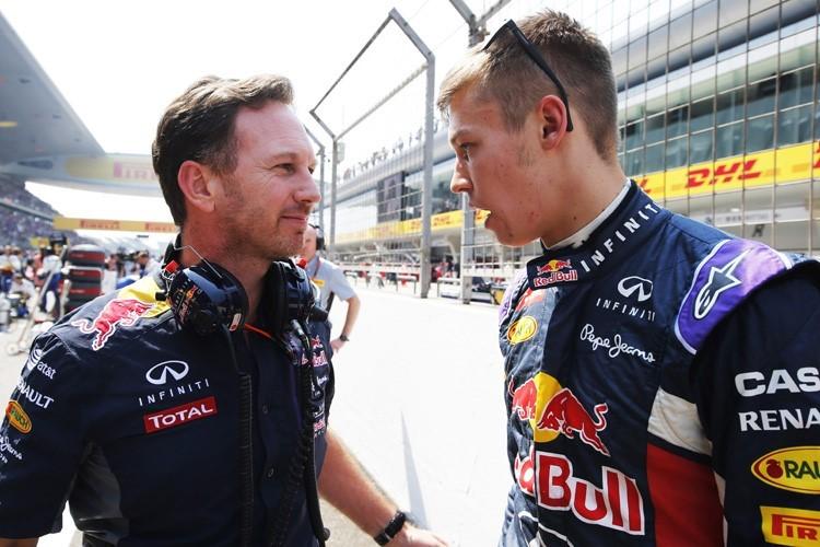 Christian Horner confirma la continuidad de Daniil Kvyat en Red Bull para 2016
