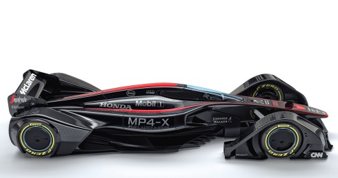Espectacular diseño del McLaren MP4-X